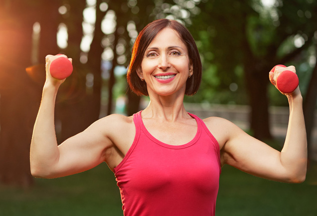 exercise in menopause image